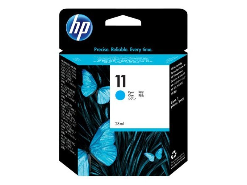 HP 11 Cyan Ink Cartridge - C4836A