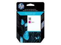 HP 11 Magenta OriginalInk Cartridge - Standard Yield2000 Pages - C4837A