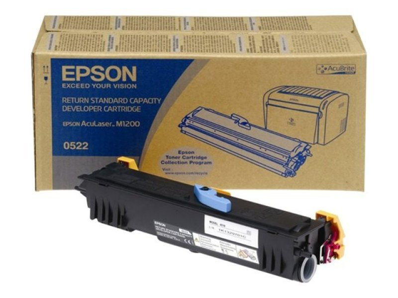 Epson AcuLaser M1200 Toner Cartridge High Capacity 3.2K Black