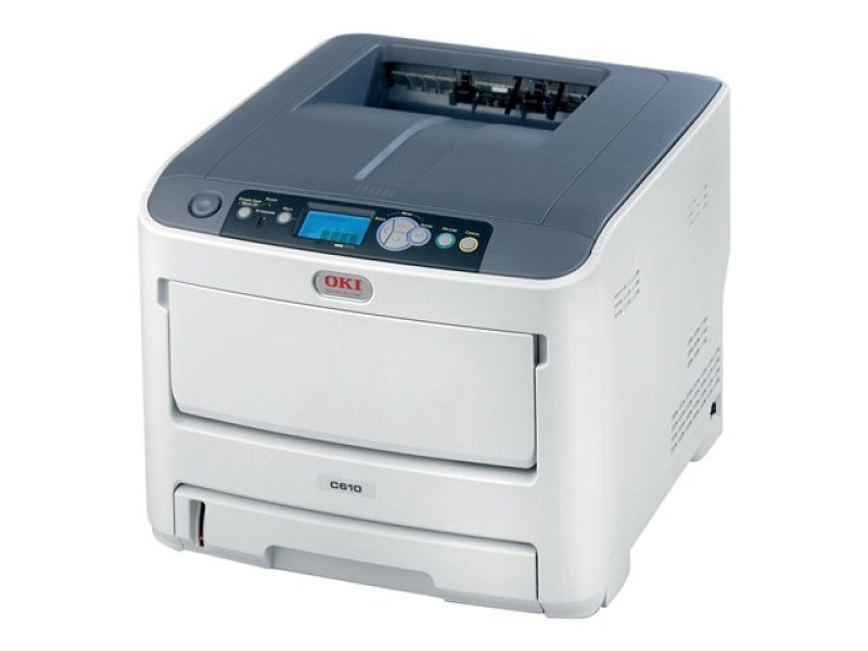 Image of OKI C610N A4 Network Colour Laser Printer