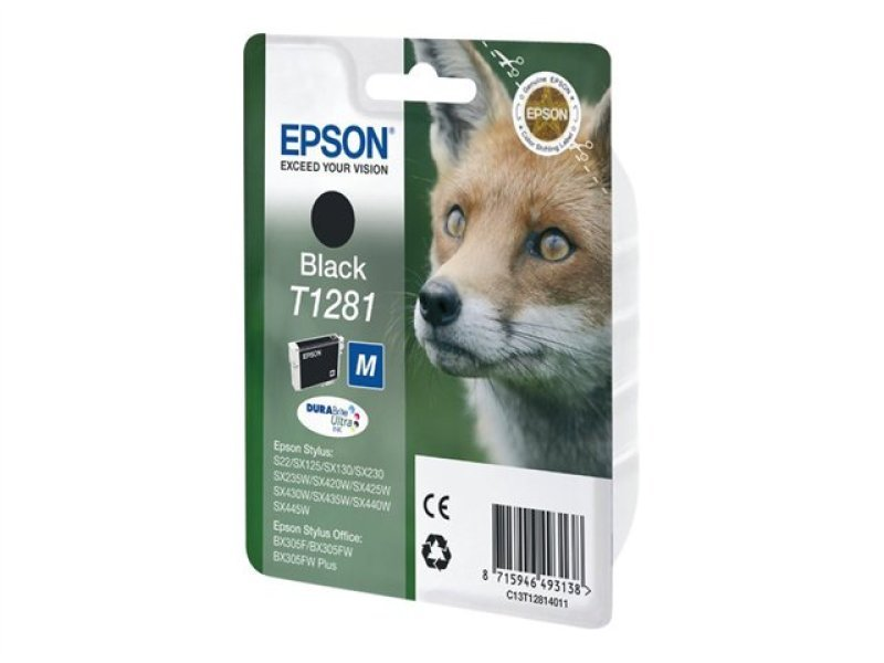 Epson T1281 Black Ink Cartridge