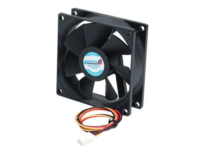 StarTech.com 80x25mm Ball Bearing Quiet Case Fan w/ TX3 Connector