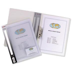 Snopake Clampbinder Superline Clr 12772 - 10 Pack