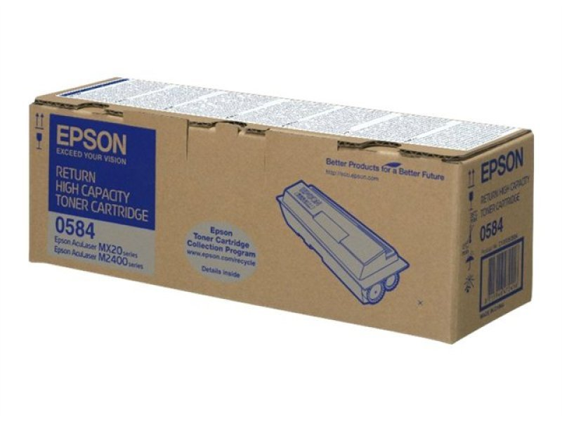 Epson MX20/M2400 Black High Capacity Toner Cartridge