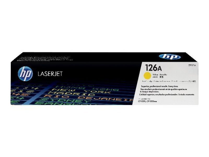 HP 126A Yellow Toner Cartridge - CE312A