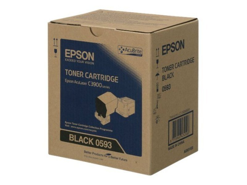 TONER CARTRIDGE BLACK S050593 - 6.000 PAGES