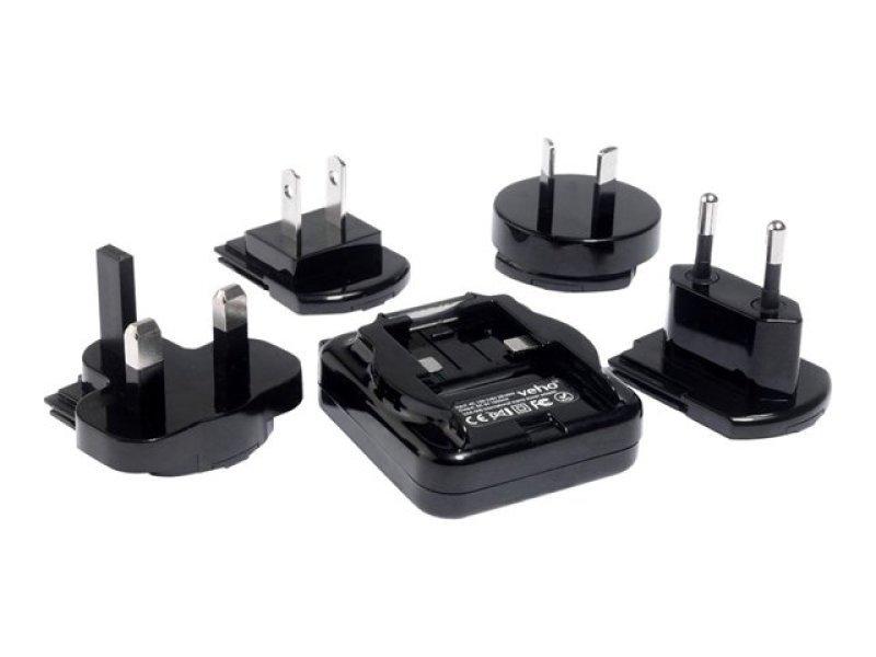 Veho VAA-005 Multi Regional USB Power Adapter Charges any USB Device