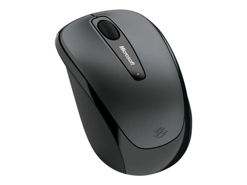 Microsoft Wireless Mobile Mouse 3500 for Business- Loch Ness Gray