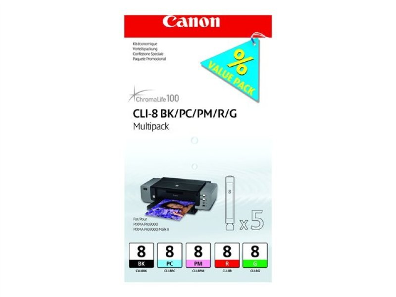 Canon CLI- 8 Multipack Ink Cartridge