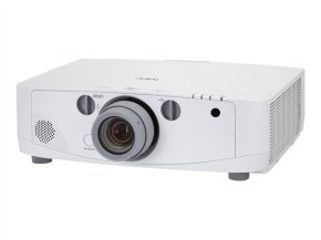 NEC PA550W - LCD projector - 5500 ANSI lumens - WXGA (1280 x 800) - widescreen - High Definition 720p - LAN