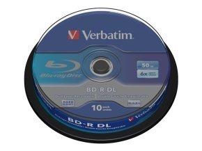Verbatim 6x BD-R Dual Layer 50GB 10 Pack Spindle