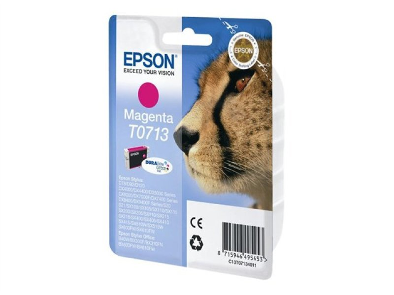 Epson T0713 Magenta Ink cartridge