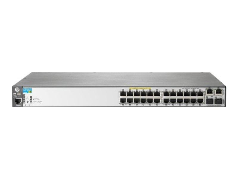 Hpe 2620 24 Poe Switch L4 Managed 24 X 10 100 2 X