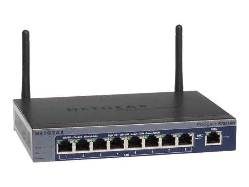 Image of Netgear ProSafe Wireless-N 8-port Gigabit VPN Firewall