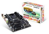 Gigabyte GA-990FXA-UD3 990FX Socket AM3+ 8 Channel Audio ATX Motherboard