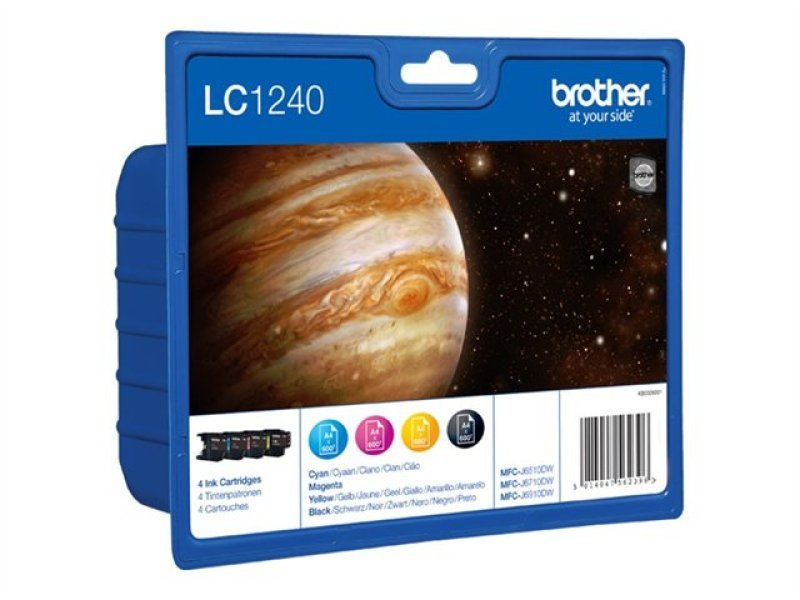 Brother LC-1240 Colour Value Pack- Blister