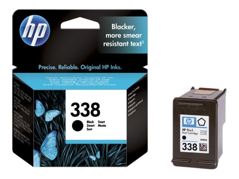 HP 338 Black Ink Cartridge - C8765EE