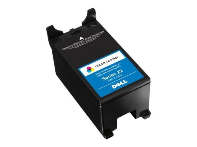 DELL P513W HIGH CAP COLOUR INK X738N