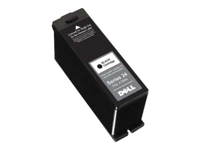 Dell Series 24 Single Use Black Ink Cartridge