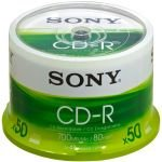 Sony 48x CD-R Discs - 50 Pack Spindle