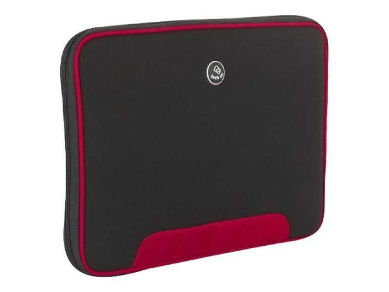 "Image of Tech-Air Neoprene Slipcase, For Laptops up to 10.2"" - Black / Red trim"