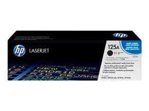 HP 125A Black Dual Pack LaserJet Toner Cartridges - CB540AD