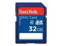 Sandisk 32GB SDHC Class 4 Card