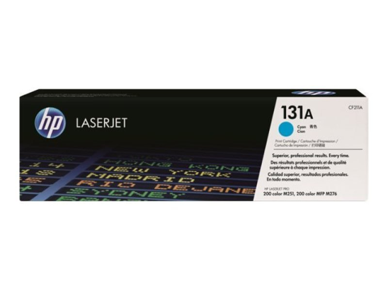 HP 131A Cyan Toner Cartridge - CF211A