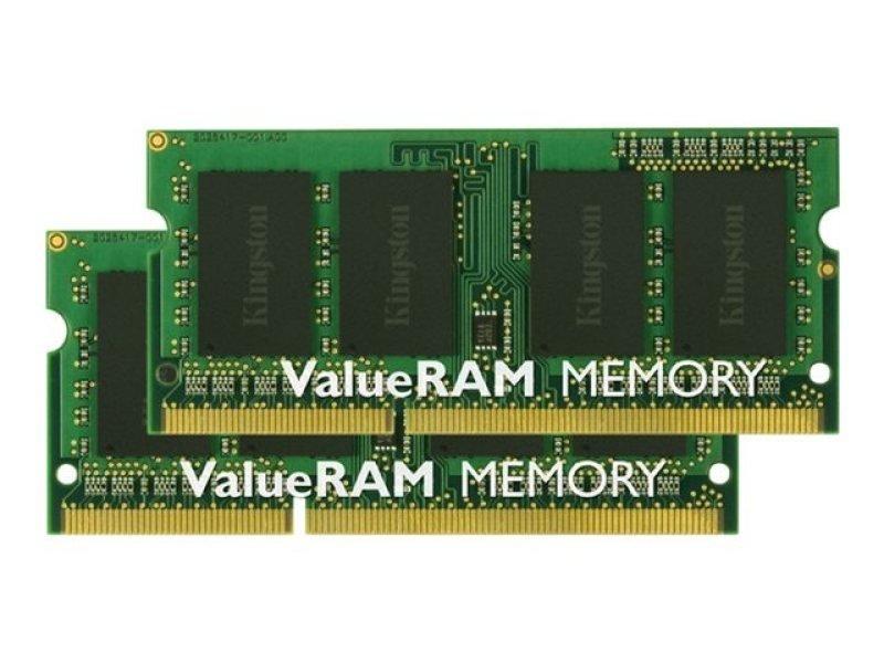 Kingston 16GB DDR3 1333MHz Value Laptop Memory