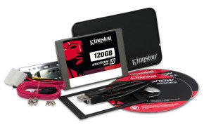 Kingston V300 SSDNow 120GB SSD Upgrade Kit with Adapter
