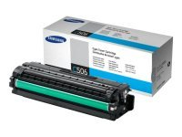 Samsung CLT-C506S Cyan Original Toner Cartridge - Standard Yield 1500 Pages - SU047A