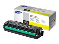*Samsung CLT-Y506S Yellow Toner Cartridge - 1,500 Pages