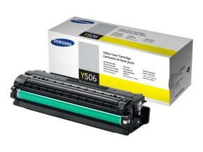 Samsung CLT-Y506S Yellow Toner Cartridge - 1,500 Pages