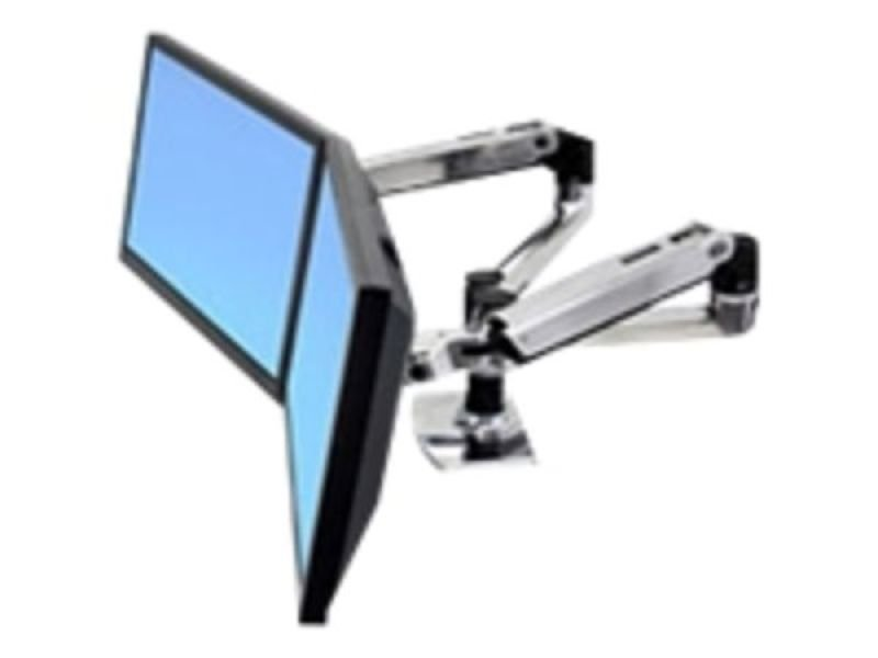 Ergotron LX Dual Side-by-Side Arm - Mounting kit