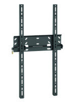 Vogel'S Professional PFW 5015 LCD/Plasma Wall Mounts,  37-50, Portrait, Locking Bar + Padlock (Black Colour)