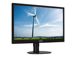 "Philips 241S4LCB 24"" LED LCD DVI Monitor"