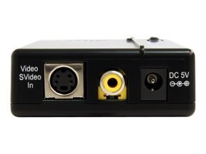 *Startech Composite And S-video To Vga Video Scan Converter