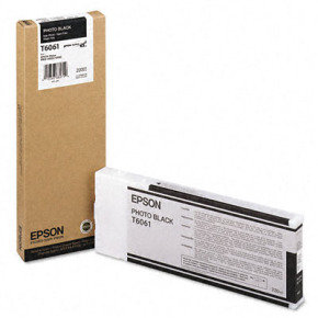 Epson T6061 Photo Black Ink Cartridge