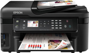 Epson WorkForce WF-3520DWF Wireless All In One Printer with Fax