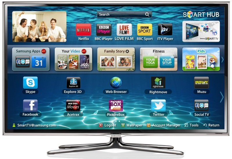 Samsung Series 6 40in Full HD SMART FREESAT WIFI LED 3D TV