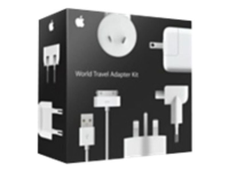 Image of Apple MB974ZM/B World Travel Adapter Kit