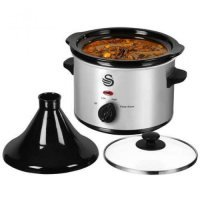 Swan SF11060N 1.5 ltr S/S Tagine and Slow Cooker