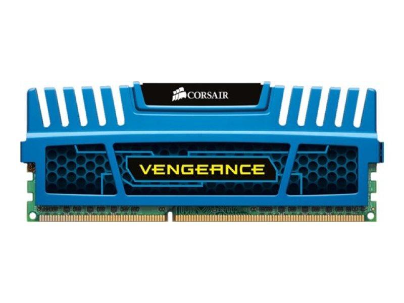 Corsair 8GB DDR3 1600MHz Vengeance Blue Memory