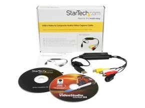 StarTech.com S-Video / Composite to USB Video Capture Cable Adapter w/ TWAIN and Mac Support - VHS to USB Composite Svideo