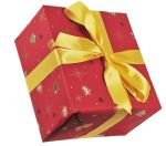 Gift Wrapping Xmas Design Red