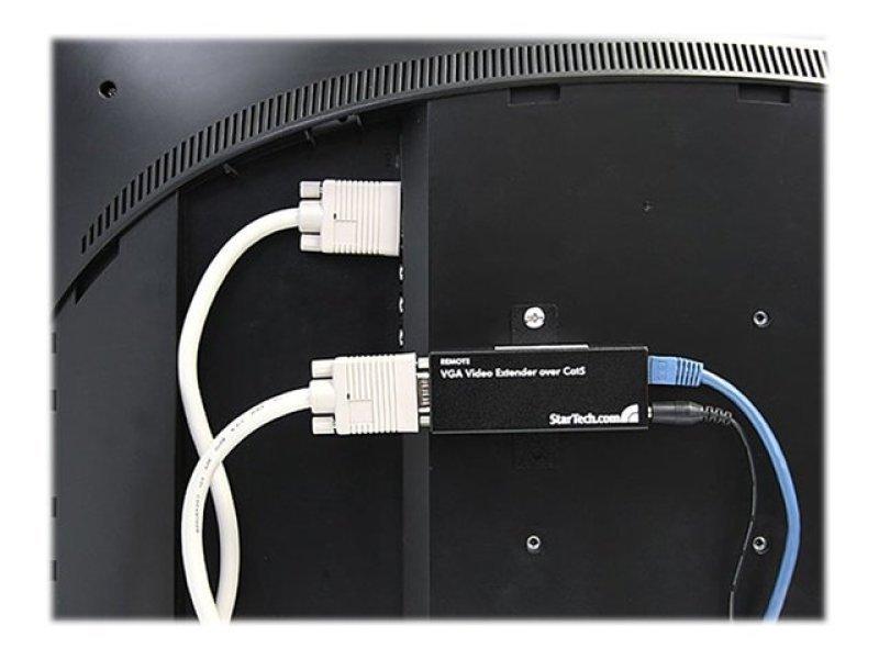 StarTech.com VGA over Cat 5 Extender Remote Receiver (UTPE Series) - VGA over Cat5 Receiver - VGA over utp receiver