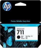 HP 711 Black Original Ink Cartridge - High Yield 38ml - CZ129A