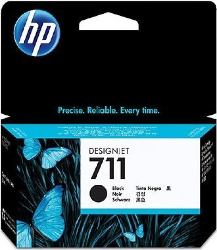 HP 711 Black OriginalInk Cartridge - High Yield 38ml - CZ129A
