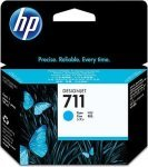 HP 711 Cyan Original Ink Cartridge - Standard Yield 29ml - CZ130A