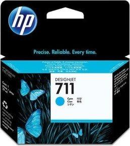 HP 711 Cyan Ink Cartridge - CZ130A